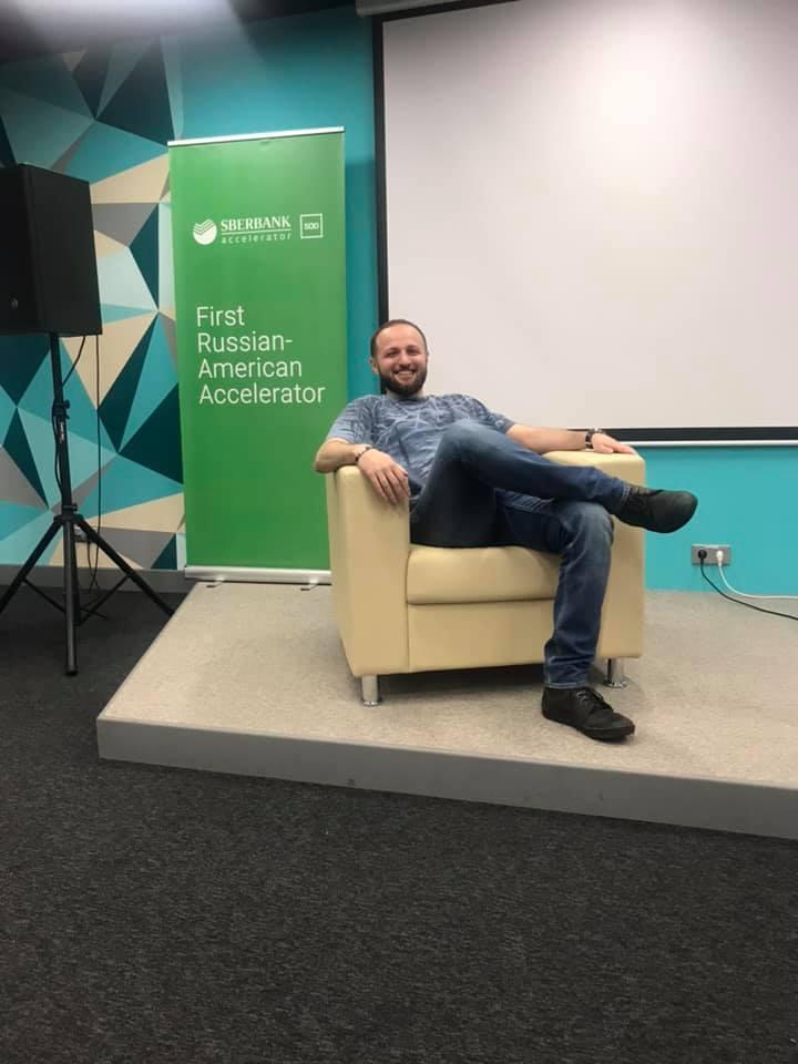 Армен Манукян на акселераторе Сбербанк и 500 Startups