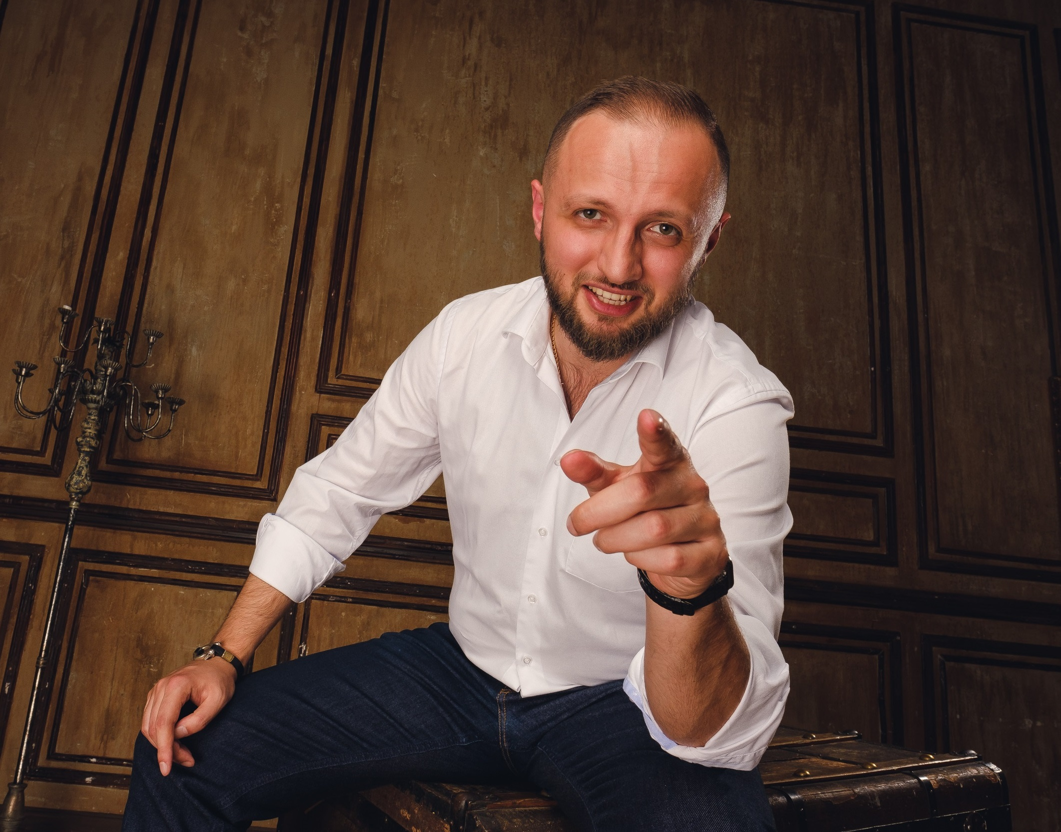 Поздравление Манукяна Армена Кеворковича с Новым Годом