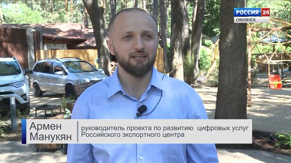 Дебют Армена Манукяна на Россия 24