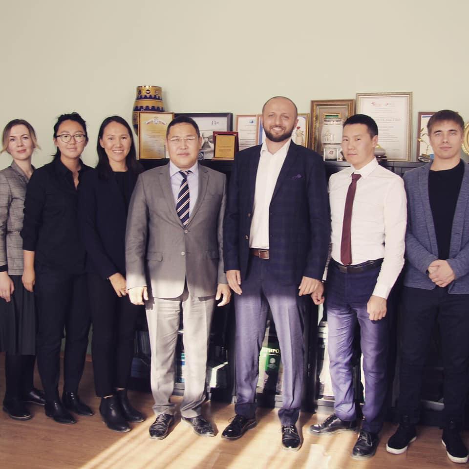 Встреча с Министром Якутии
